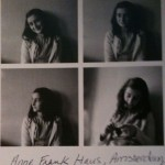My Anne Frank Postcard from the Anne Frank House in Amsterdam