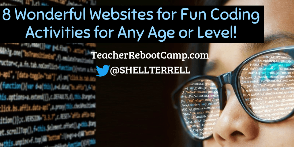 8 Wonderful Websites for Easy Coding Activities for Any Age