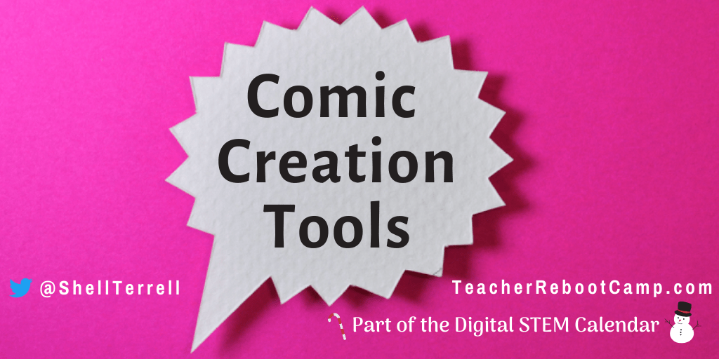 Comic Creation Tools to Engage Learners